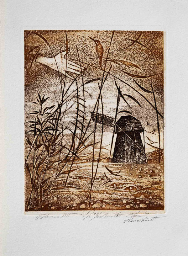 """Birutė Stančikaitė / """"Tolumos III"""" / / litografija / 14x11,5 / 10-40"""