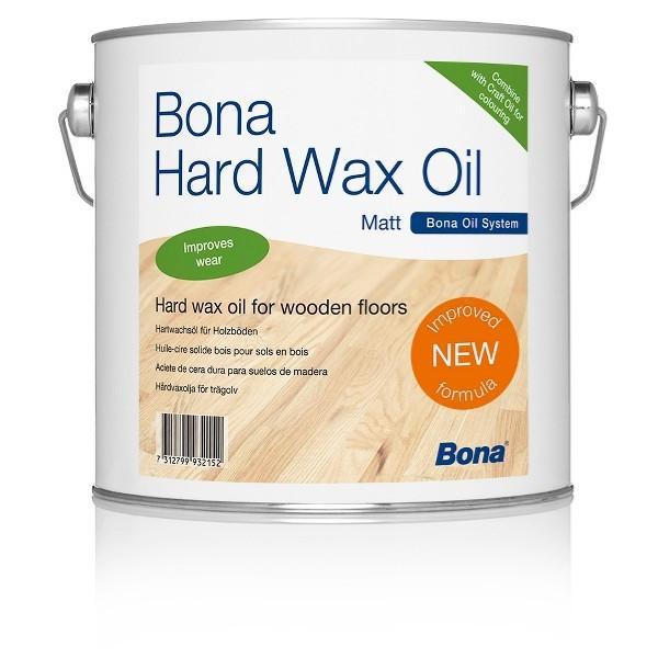 Alyva vaškas Bona Hardwax Oil matt (matinis) 2,5 l