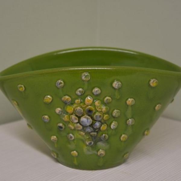 Indelis-vazelė su burbuliukais mažas žalias
