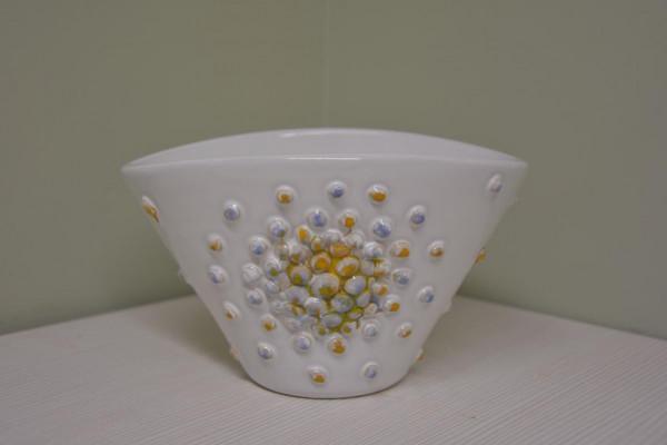 Indelis-vazelė su burbuliukais mažas baltas