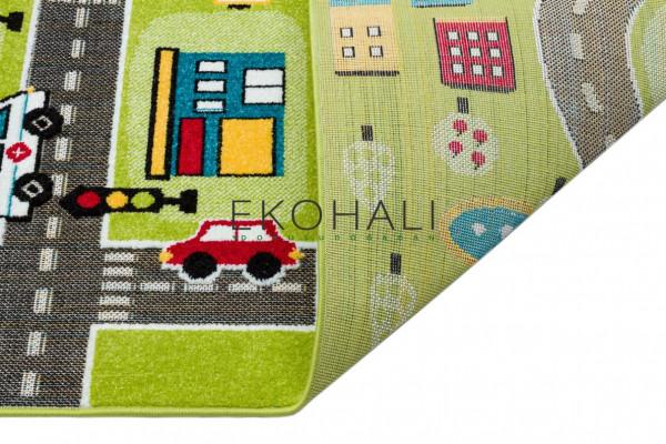 Kilimas Ekohali Kids Play KP02 žalias 133*190 cm