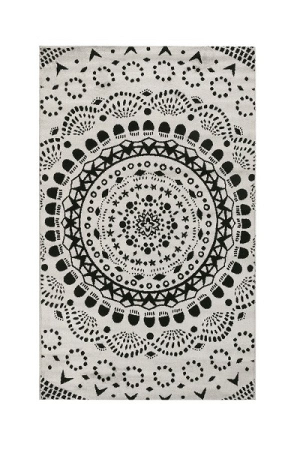 Kilimas Vallila Medaljonki clay 68x110 cm