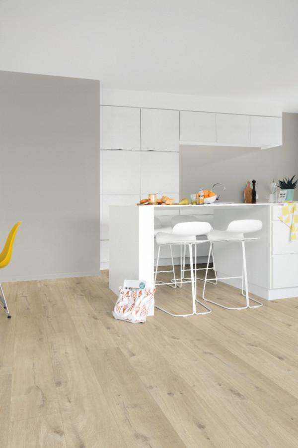 Vinilinės grindys Quick Step, Cotton ąžuolas gelsvas, PUCL40103_1