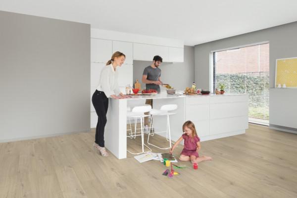 Vinilinės grindys Quick Step, Cotton ąžuolas gelsvas, PUGP40103_1