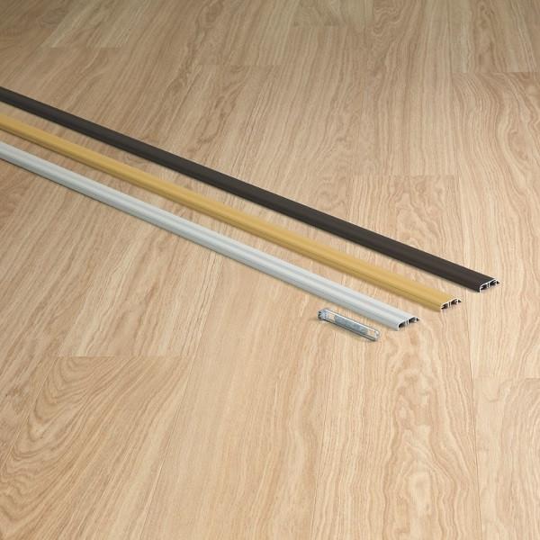 Metalinis profilis INCIZO QSINCPRBRONME270, 47,4x11,4mm 2,7m, Quick-Step