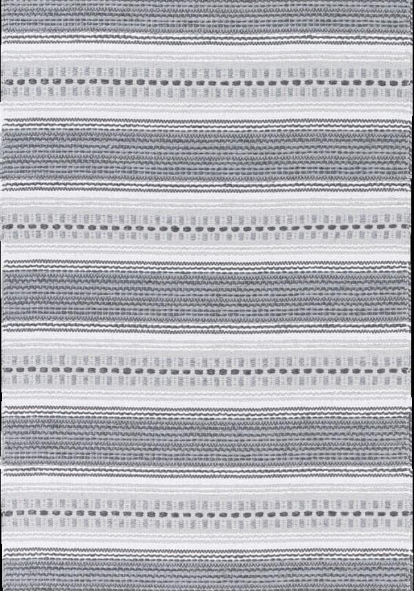 Kilimas Narma Runo pilkas plastikas / 130x190 cm