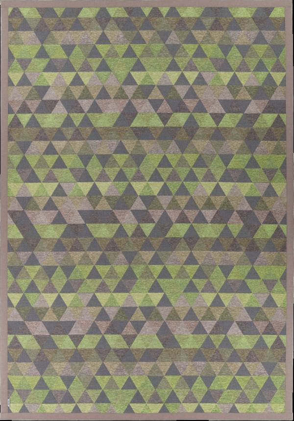 Kilimas Narma Luke žalias 140 / 80x250 cm