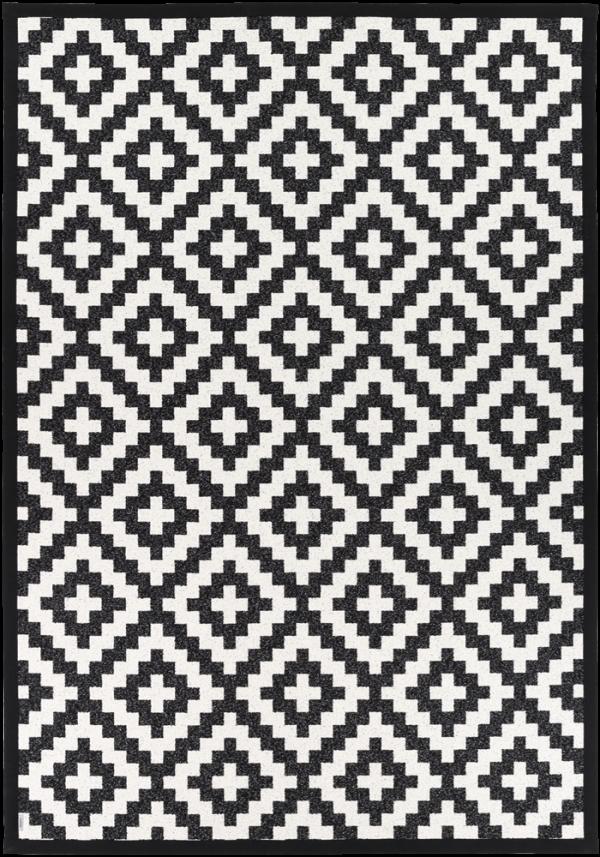 Kilimas Narma Viki juodas 100 / 70x140 cm