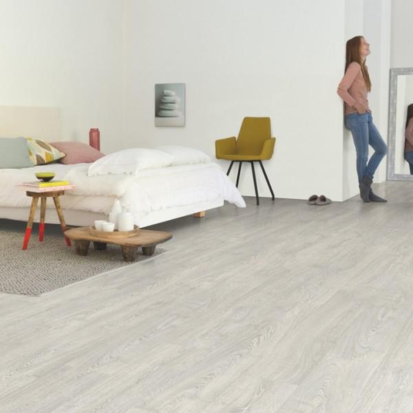 """Laminuotos grindys Quick-Step, Klasikinis Pilkas """"Patina"""" Ąžuolas, IM3560"""