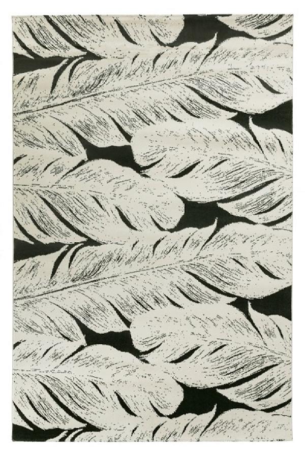 Kilimas Vallila Sulka dark grey 140x200 cm