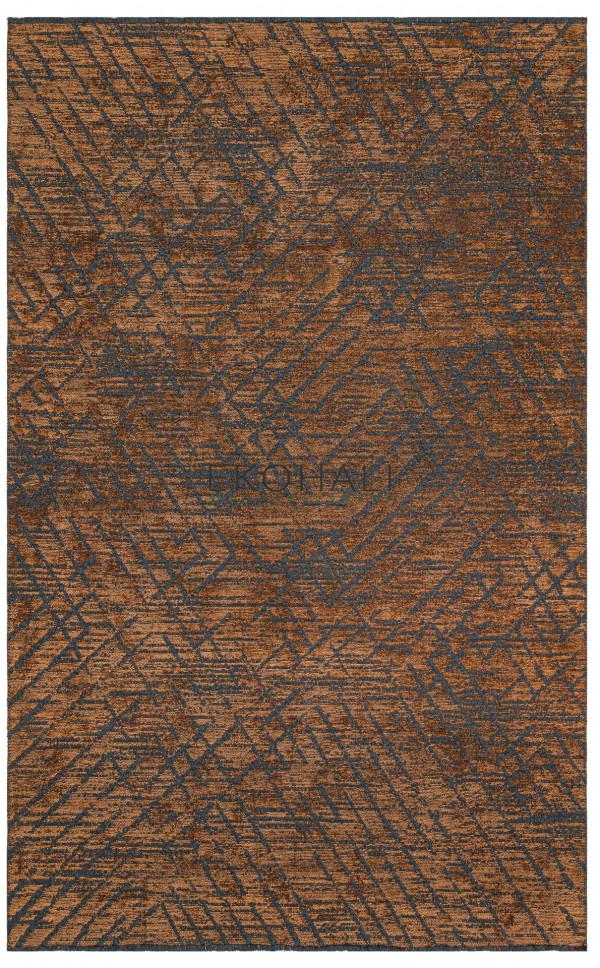 Kilimas Ekohali Tribal TRB02 antracit terra 160x230 cm