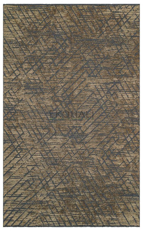 Kilimas Ekohali Tribal TRB02 antracit vizon 140x200 cm