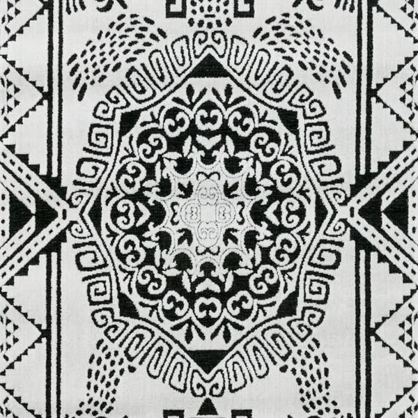 Kilimas Vallila Turtle white black 68x110 cm