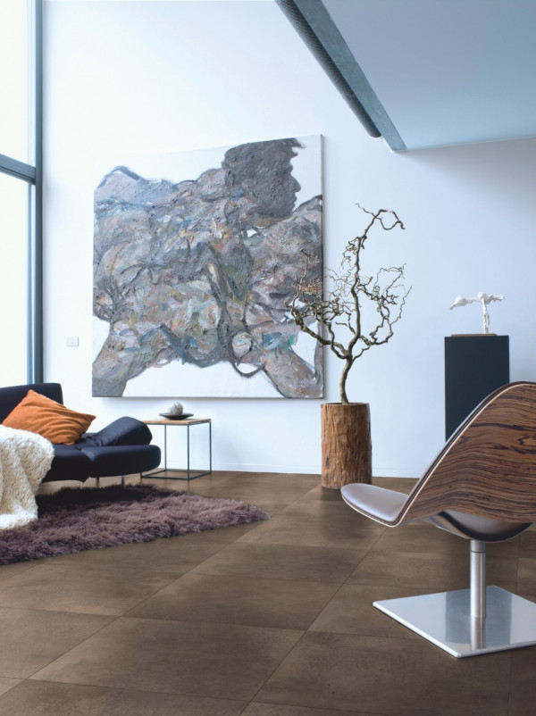Laminuotos grindys Quick-Step, poliruotas tamsus betonas, UF1247_1