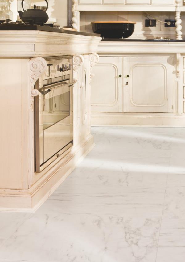 Laminuotos grindys Quick-Step, marmurinė Carrara, UF1400_3