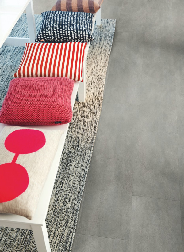 Vinilinės grindys Pergo, tamsiai pilkas betonas, V3120-40051_1