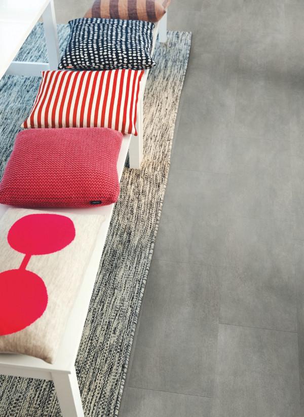 Vinilinės grindys Pergo, tamsiai pilkas betonas, V2320-40051_1