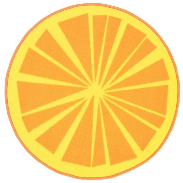 Kilimas Vallila Citrus orange apvalus 80 cm